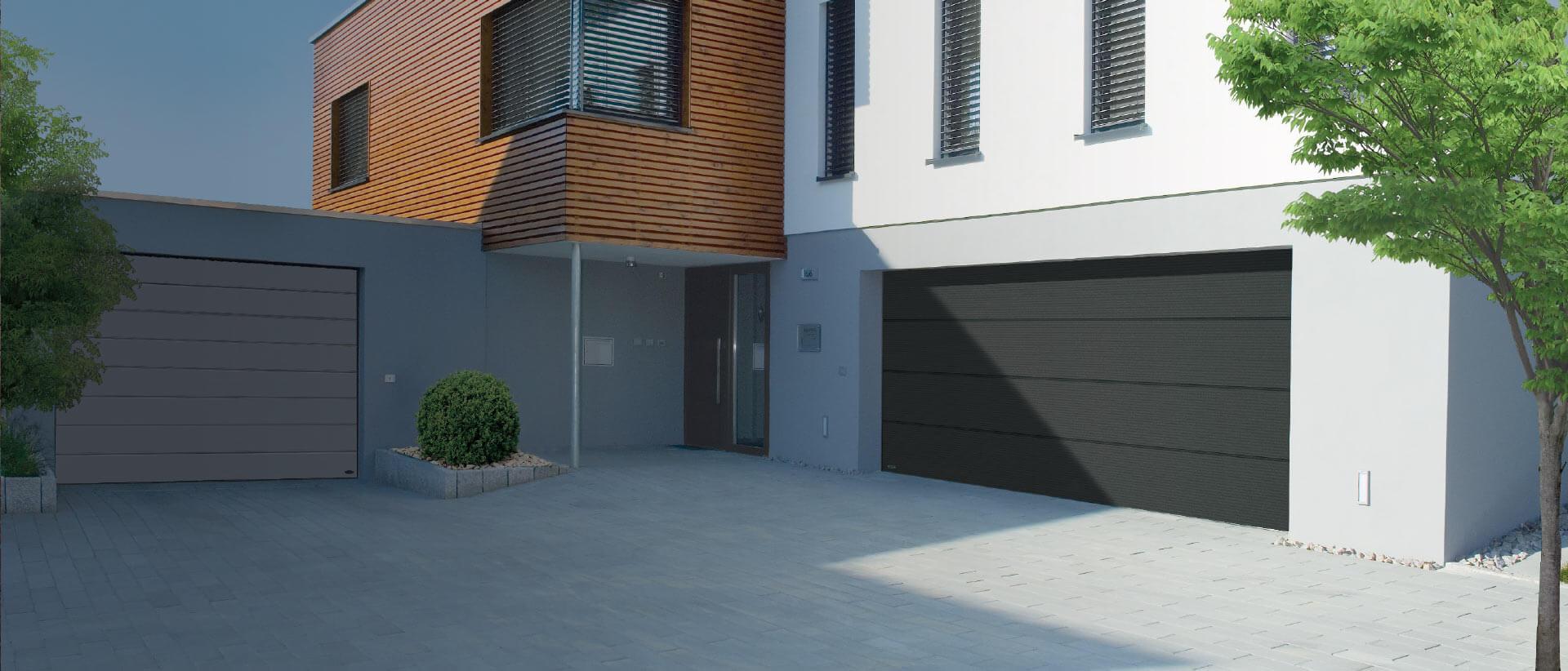 Dom z brama garazowa Dekedo Lubartow